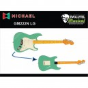 Guitarra Michael STONEHENGE GM222N LG – LIGHT GREEN - Stratocaster